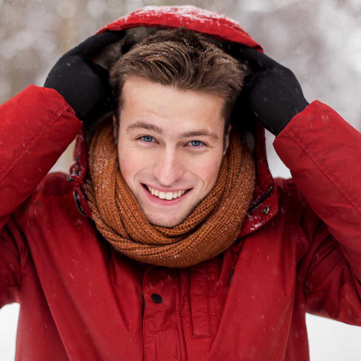 I'm a cold weather kind of person. - Ich bin ein Kaltwetter-Mensch.